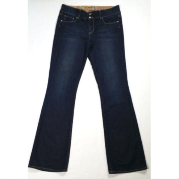 PAIGE Denim - PAIGE Women H. H. Boot Cut Jeans Mid Rise 1703E2